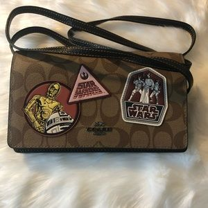 Small coach star wars crossbody